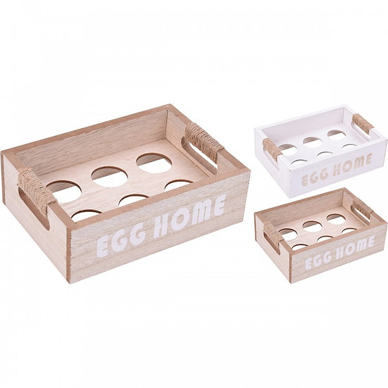 Βάση ξύλινη για αυγά