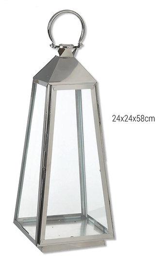 Τετράγωνο φανάρι ( ανοξείδωτο ατσάλι )