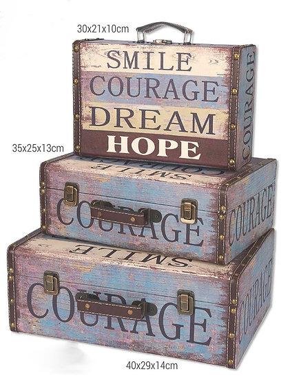 Ξύλινη βαλίτσα Dream