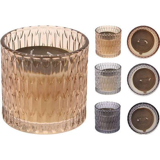 JK Κερί αρωματικό σε γυάλινο