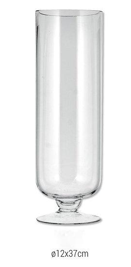 Βάζο γυάλινο με πόδι