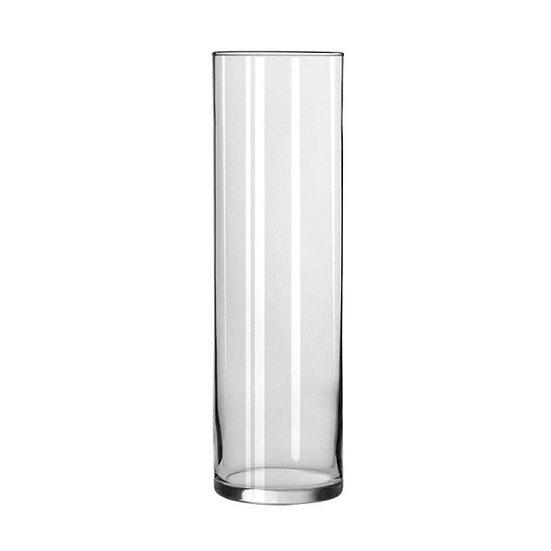 Γυάλινο βάζο κύλινδρος, 15x60cm