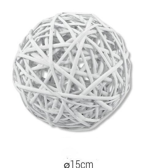 Μπάλα λευκή μπαμπού