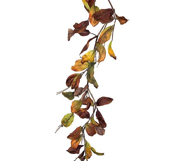 Γιρλάντα από φύλλα μανώλιας 180cm | ZAROS