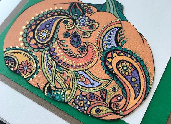 Spiced Pumpkin Card