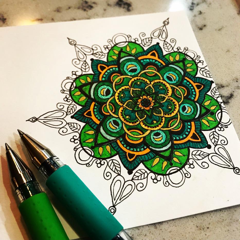 Celtic Circles in Progress