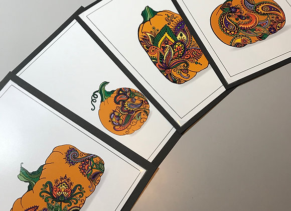 Spiced Pumpkin Print Series