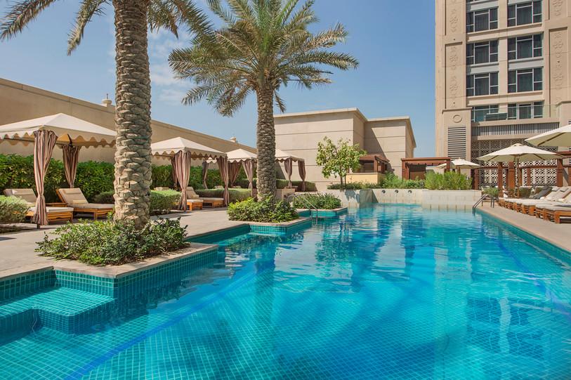Hilton Dubai Al Habtoor City Pool