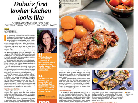 This is how Dubai's first kosher kitchen looks like