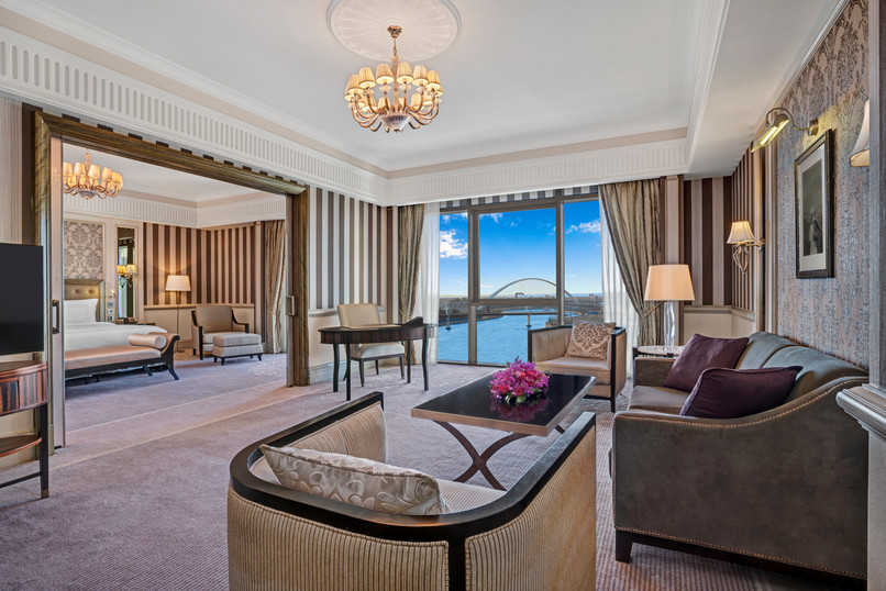 Habtoor suites are beautiful