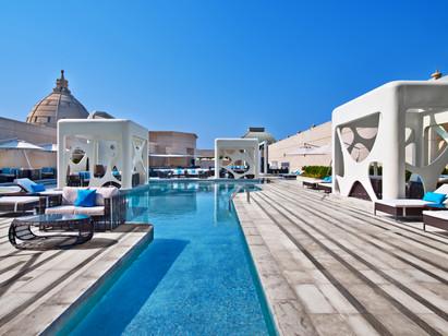 V Hotel Pool Deck