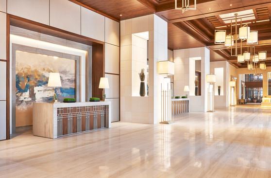 Hilton Dubai Al Habtoor City Lobby