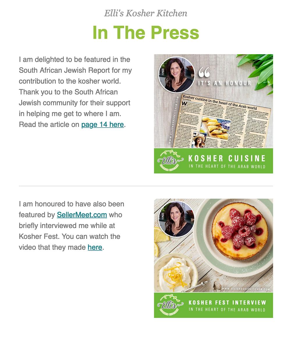 Ellis Kitchen December Newsletter