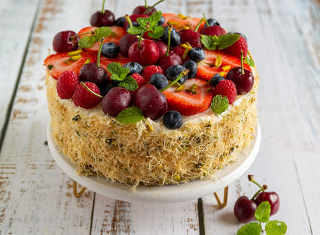 Kataifi cheesecake recipe