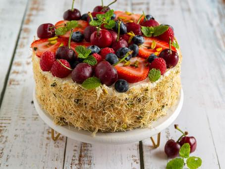 Kataifi cheesecake recipe