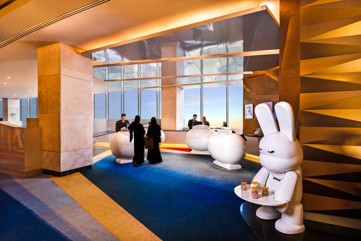 V Hotel Dubai - Reception