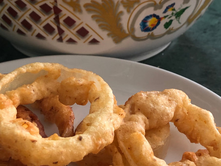 Onion rings for Passover