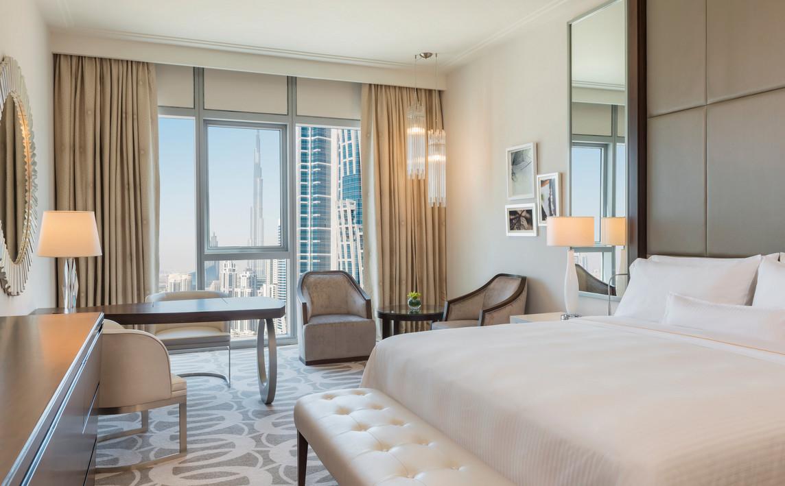 Hilton Dubai Al Habtoor City Deluxe King Room