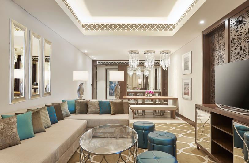 Hilton Dubai Al Habtoor City Family Suite