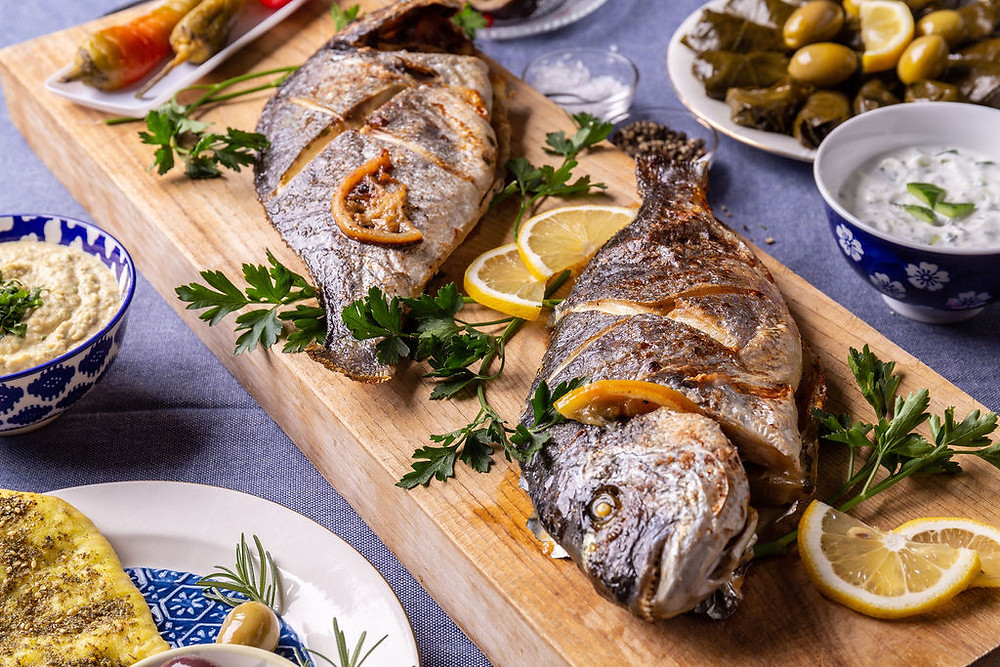 Arabian Gulf Baked Fish