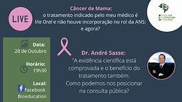 Câncer de Mama: o tratamento indicado pelo meu médico é Via Oral e não houve incorporação no rol da NAS: e agora?