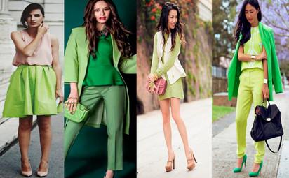 Resultado de imagem para roupas lindas greenery