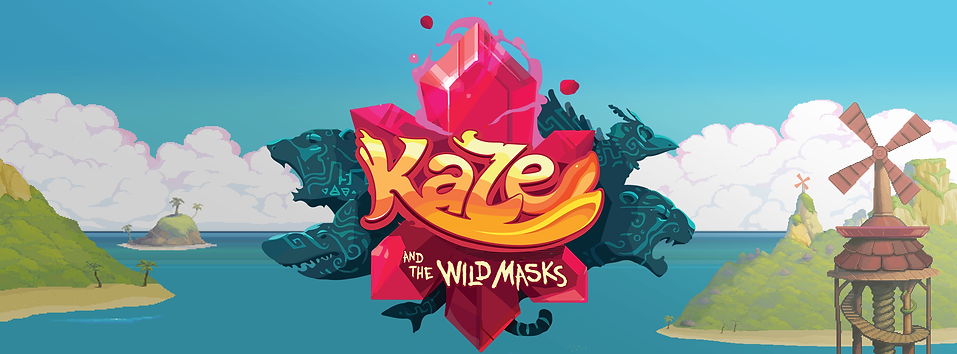 Press kit Kaze indie game pixel art