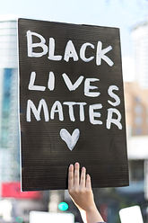 Black Lives Matter hand sigh at Seattle