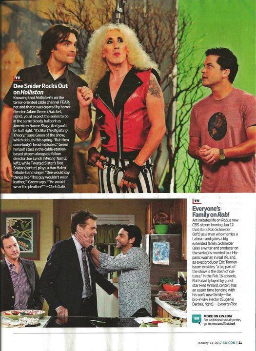 Holliston Entertainment Weekly