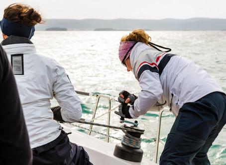 8 femmes et un catamaran