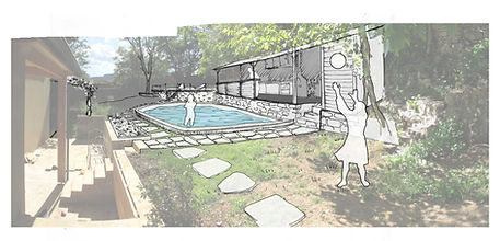 zone piscine Panorama 2921 2925 pour pag