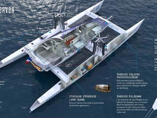 Primer barco propulsado por energías renovables e hidrógeno