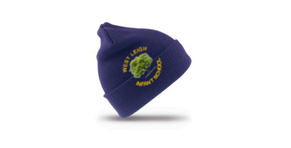 Wooly Hat Embroidered WLRC029B