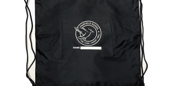 Swim Bag Navy With Logo (FFRS10)