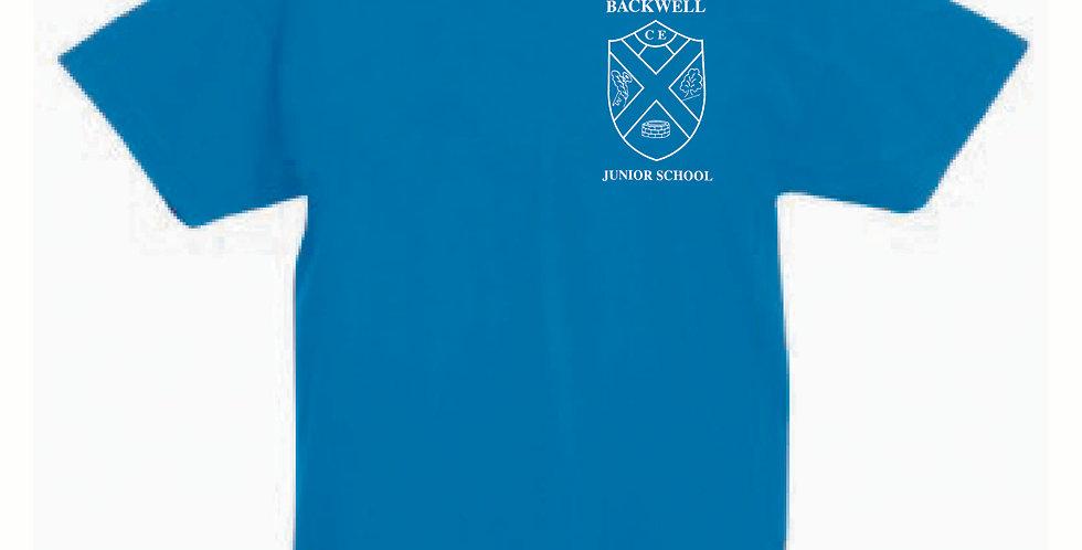 Fruit of the Loom T-Shirt Blue (Oak) (BJS)