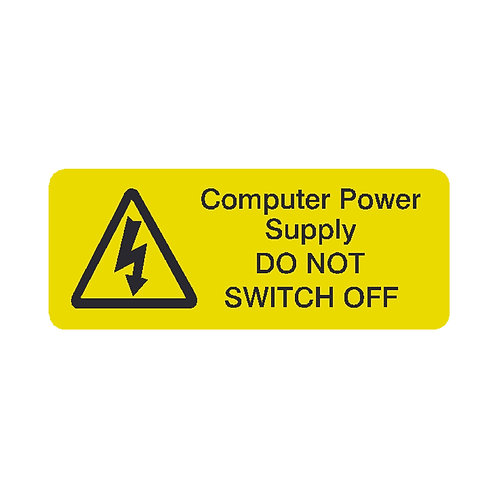 PC Power supply Labels