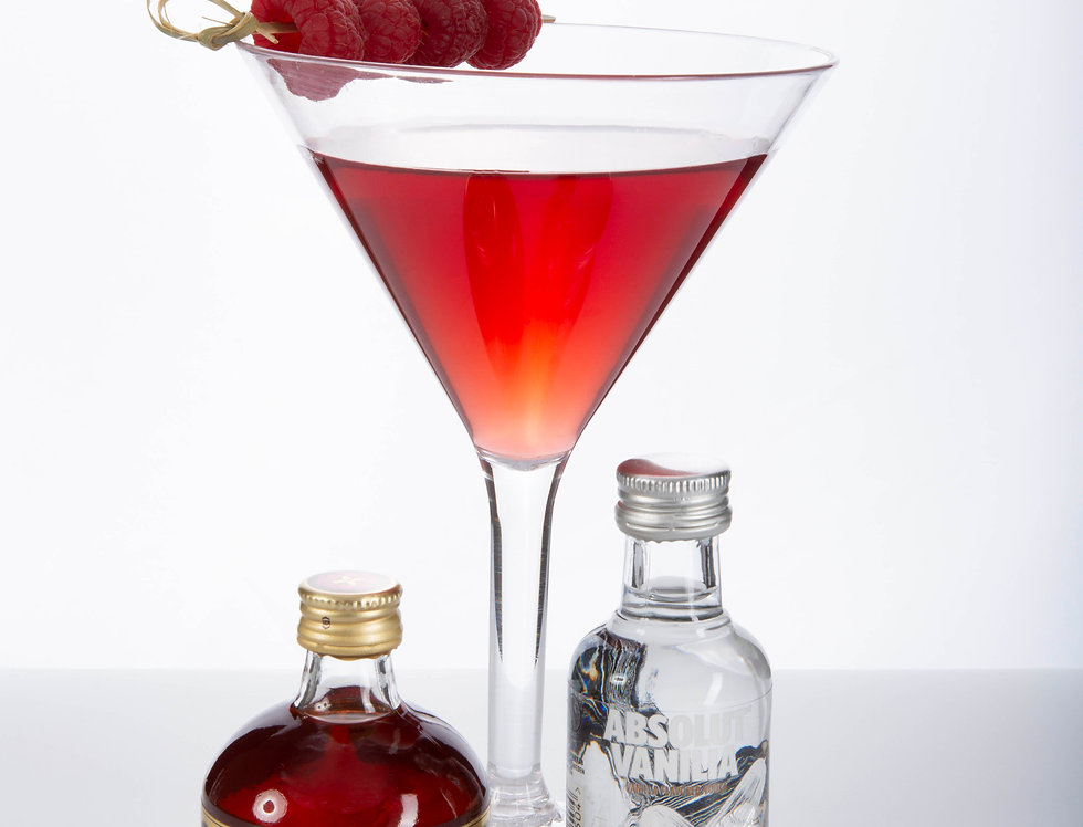 RASPBERRY RIPPLE MARTINI