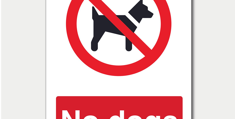 No Dogs Short