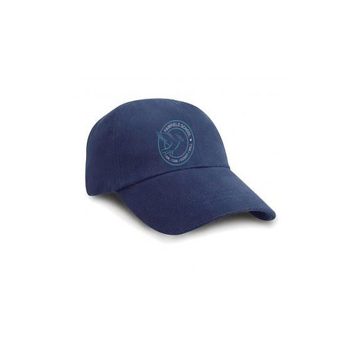 Navy Peak Cap Embroidered (FFRC024B)