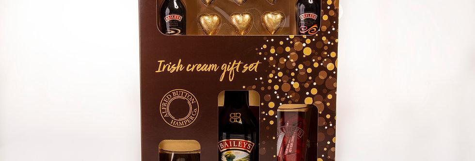 Irish Cream and Chocolates Gift Set