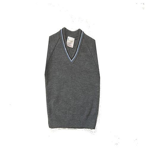 Grey/sky Blue Short Sleeve Jumper (FFGSSJ)