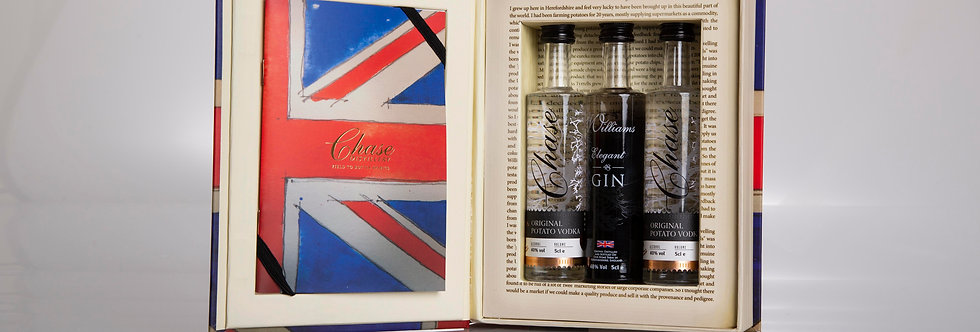Chase Vodka Collection Book