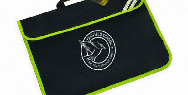 Book Bag Navy With Logo