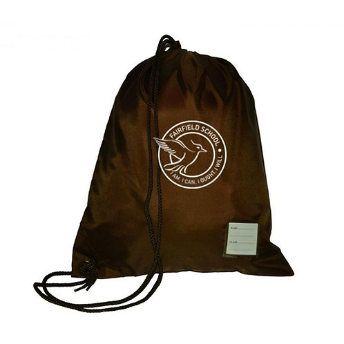 Swim Bag Brown With Logo (FFSKUSB85)