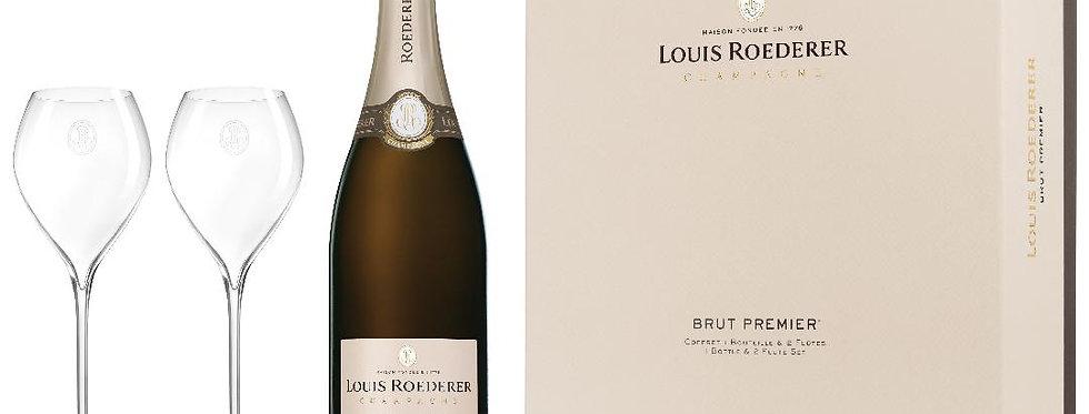 Louis Roederer Brut Premier Champagne Gift Set