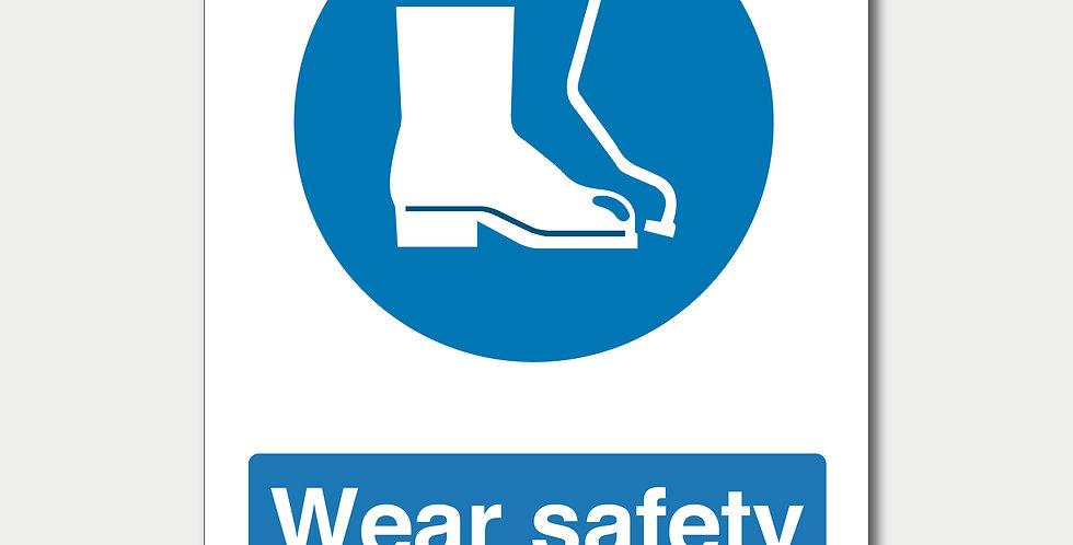 Wear Safety Footwear