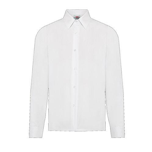 Girls White Blouse Long (FFD60)