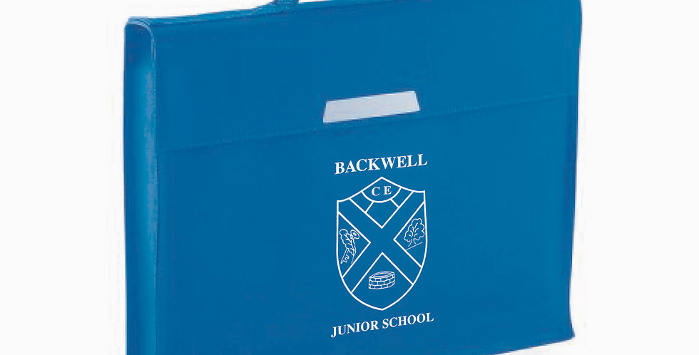 QD446 Quadra Book Bag Printed (BJS)