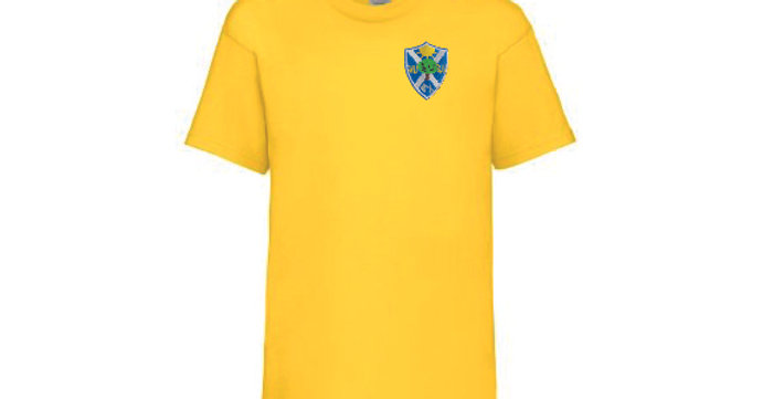 Fruit of the Loom T-Shirt Yellow (Sycamore) (BF)