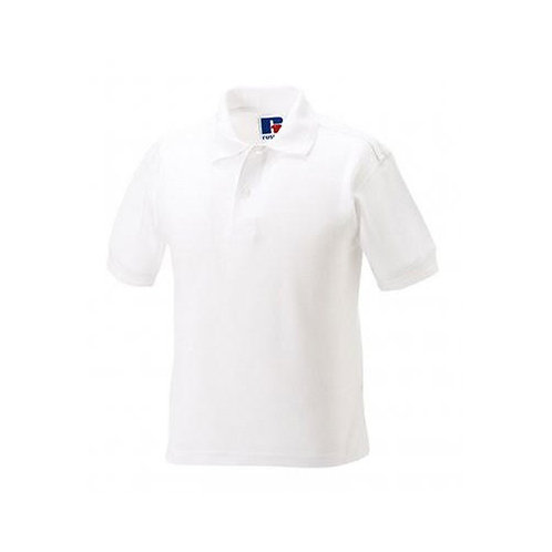 Plain White Polo WL599B